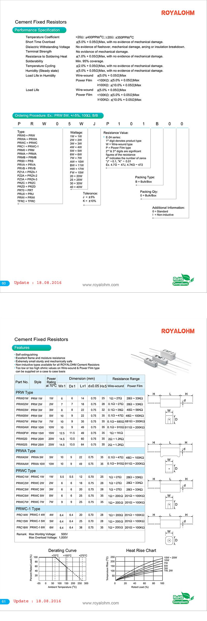 Intertechnik  Keramikwiderstände 10 W 10,0 Ohm 2 Stück